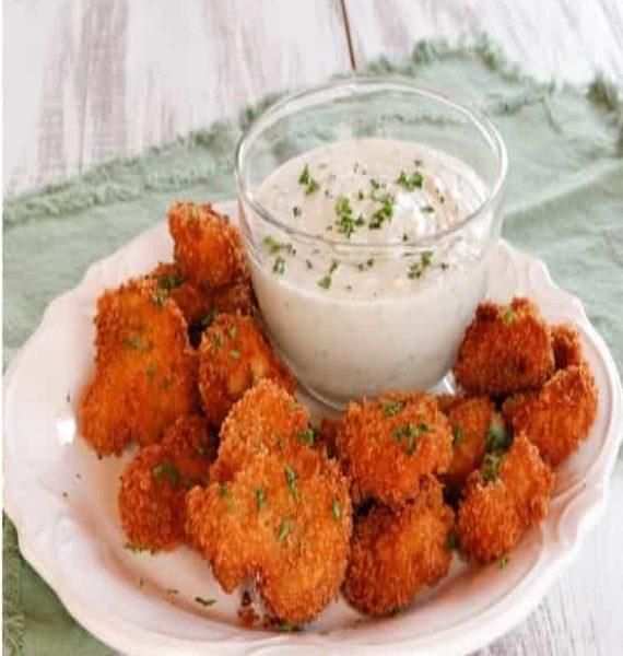 vegan-panko-fried-mushrooms